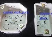 Cajas octagonales y rectangulares pvc - tableros riel pvc- modulares - duchas entre otros