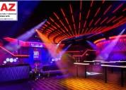 DiseÑo de discotecas, luces led, box, vip, pistas de baile.jaen, bagua, chachapoyas