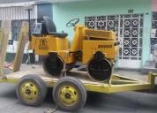 Venta y alquiler rodillos compactadores de 1.5 toneladas wacker
