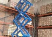 alquiler y venta de mÁquinas y equipos elevadores tipos tijeras 6 y 8 metros altura 4252269/9974707