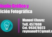 Edición de imágenes retocador fotográfico freelance