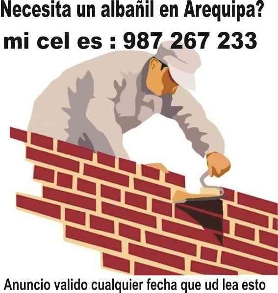Albañil Maestro Arequipa