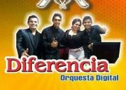 Diferencia orquesta digital