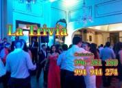 Orquesta eventos empresariales Matrimonios Orquesta La Trivia Lima Perú Grupo año nuevo