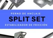 Sostenimientos  de tÚneles - split set