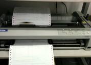 Alquilo impresoras matriciales marca epson