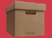 Cajas archivadoras lima