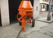 Alquiler y venta mezcladora tipo trompo gasolinera o electrica 4252269/997470736
