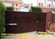 Puerta de garaje importada y nacional en lima