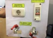 Electricistas a 1  atienden las 24 horas teléfono fijo 01 2210469