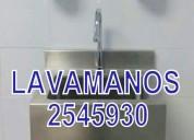 Cocina lavadero mesa campana acero inox stock 2545930