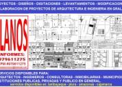 Servicios autocad, planos de arquitectura, estructuras, electricos, sanitarias,