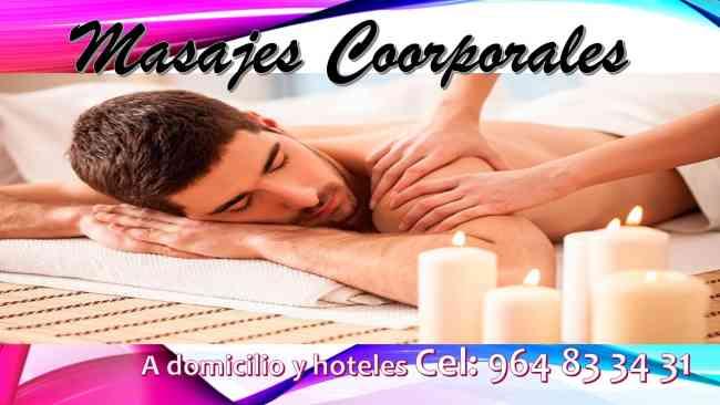 masajes coorporales a la comodidad de hoteles