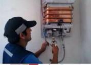 Gasfiteria en general. tecnicos en thermas a gas