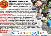 Perito forense: soluciones forenses ... para su verdad