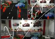 Cars disney ,fiestas  infantiles temáticas  , tortas , candy bar
