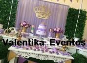 Mesa de  dulces  para fiestas  infantiles princesita  sofia