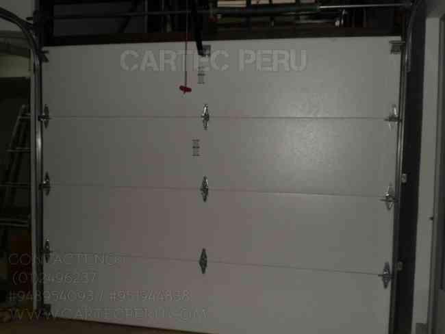 Puertas Seccionales Cartec Perú