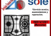 Servicio tecnico sole mantenimiento para cocinas vitroceramicas
