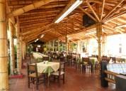 DiseÑo y construccion en bambu, madera, restaurantes, recreos, centros campestres, casas