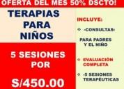 Terapia para niÑos oferta del mes !