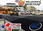 Servicio de sellado asfaltico, bacheo asfaltico, carpeta asfaltica de calidad