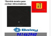 Balay cocina vitroceramica servicio tecnico lima