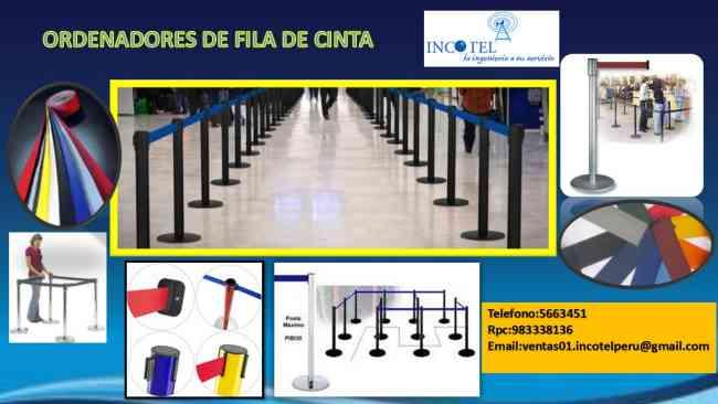 SEPARADORES DE FILA /INCOTEL/TELEFONO:5663451