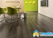 Elegantes ambientes colocando pisos laminados