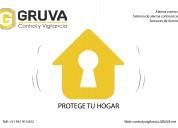 Gruva control y vigilancia - alarmas