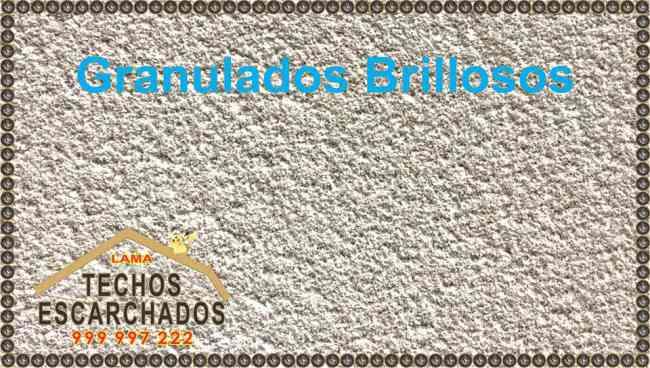 ACABADO Granulado TIPO ESCARCHADO - Tlf:. 999 997 222