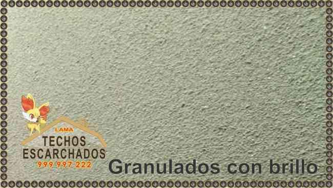 ACABADO DECORATIVO  TIPO ESCARCHADO - Tlf:. 999 997 222