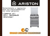 Servicio tecnico y mantenimiento para cocinas ariston