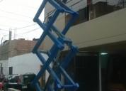 Elevadores hidrahÚlicos tipos tijeras 6 y 8 altura 981379192/4252269