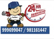 Servicio de gasfiteria las 24 horas