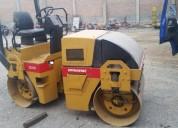 rodillos compactadores 03 toneladas dynapac venta y alquiler 981379192/4252269