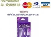 Modelo: fantasy c-ringz  vibrating silicone taint-alizer