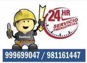 Servicio las 24 horas gasfiteria y electricidad