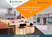 Curso diseÑo y creaciÓn de muebles en 3d -master illusion