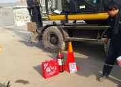 Alquiler excavadoras sobre llantas con martillo 981379192/4252269
