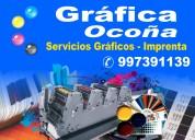impresiones - servicios graficos