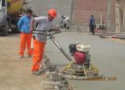 Alquiler de maquinas alisadoras de concreto 981379192/4252269