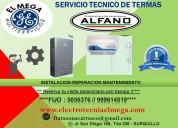 Electrotecnia ''elmega'' servicio técnico de termas
