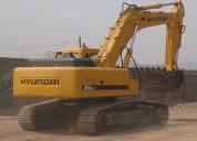 Vendo excavadora sobre oruga hyundai 360lc-7 2008
