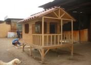 Construcciones de casas prefabricadas en madera y otros