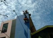 Fumigaciones pintura limpieza en altura tanques y cisternas edificaciones estructuras ductos trampas