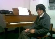 Clases de piano a domicilio