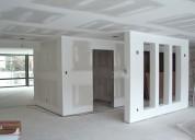 Ofrecemos todo tipo de trabajos en drywall para su casa oficina o local