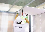 Ofrecemos  trabajos en drywall en general