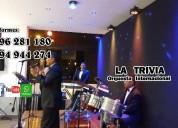 Grupo musical en vivo orquesta musica variada orquesta de lima